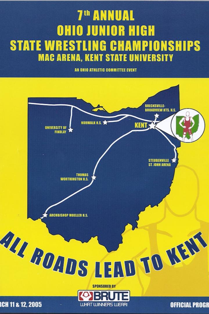Zac Hancock vs Nick Sulzer 2005 Ohio Junior High State Finals- 96lbs