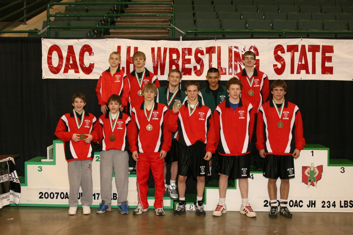 2007 Ohio Junior High State Wrestling Champions