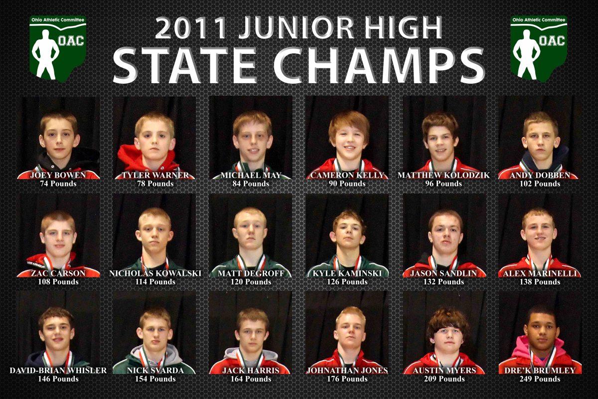 2011 Ohio Junior High State Finals Kolodzik vs Assad