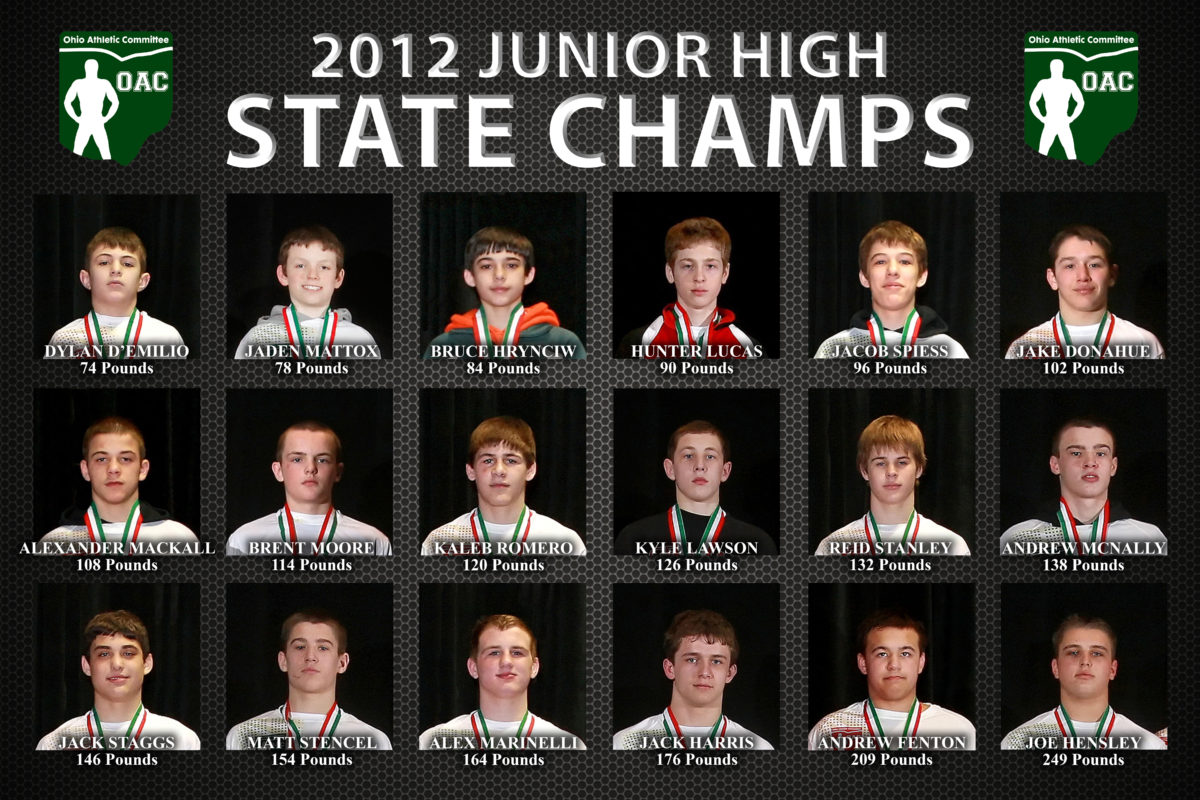 2012 Grade School State D4 80lbs  Jaden Mattox vs. Matthew Cardello