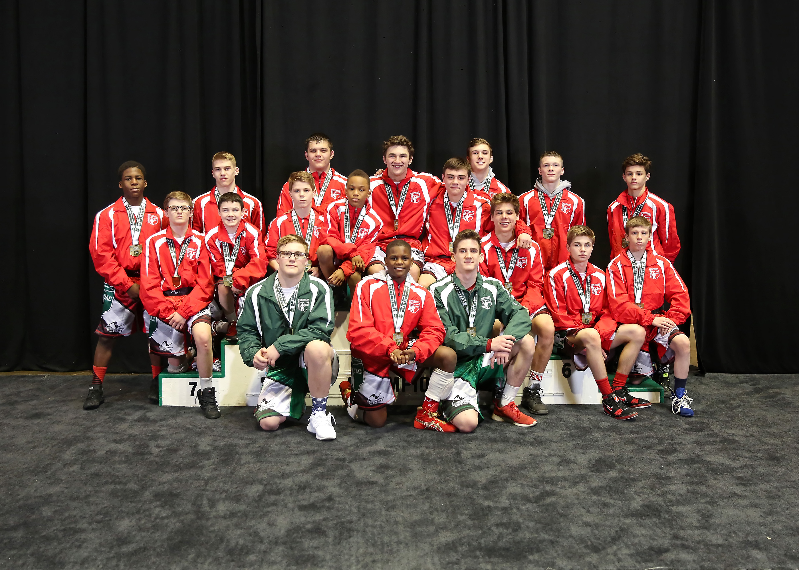 Ohio Junior High State Wrestling Results - OHIO ATHLETIC COMMITTEE