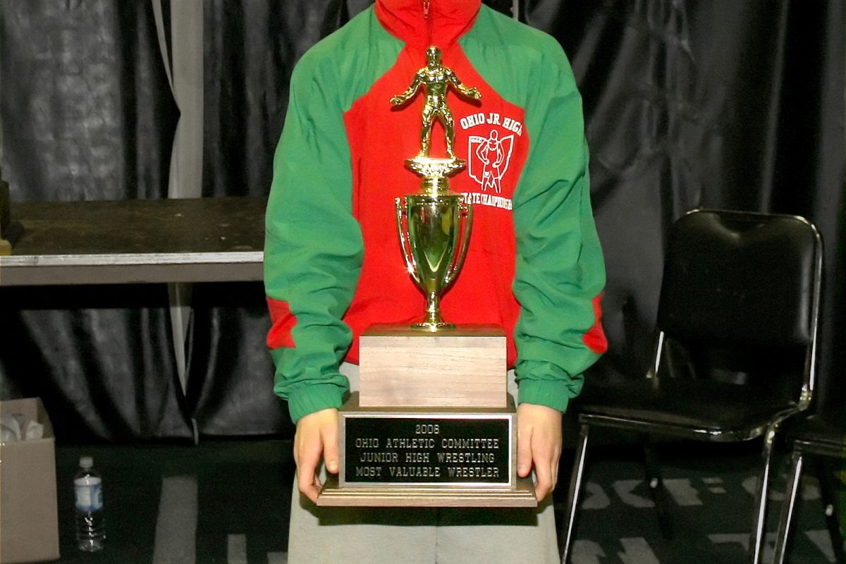 Logan Stieber 2005 Ohio Junior High State Finals 84lbs