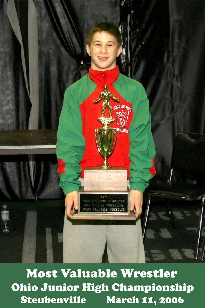 2004 State Finals Logan Stieber