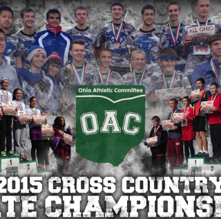 2015 OAC Cross Country Results