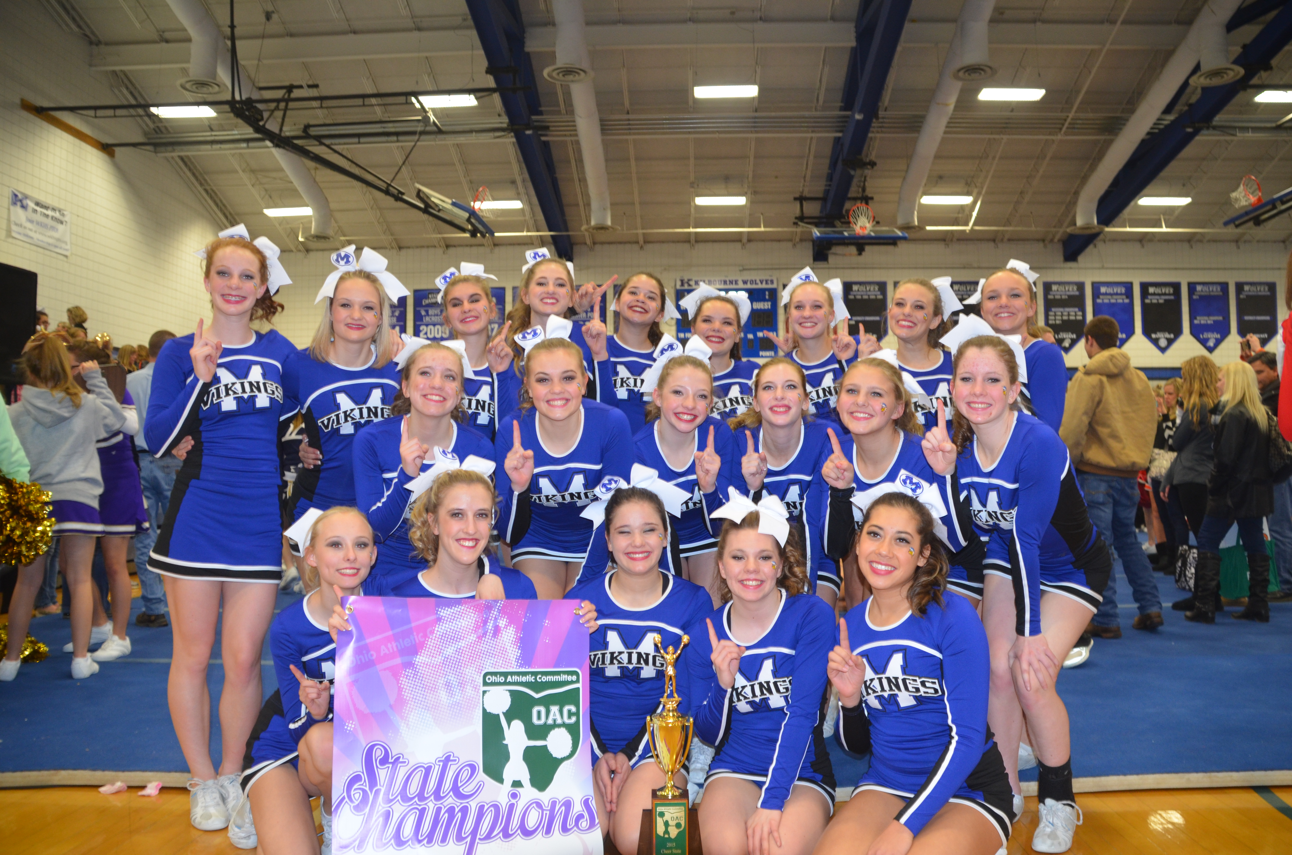 2015 Cheer State Results