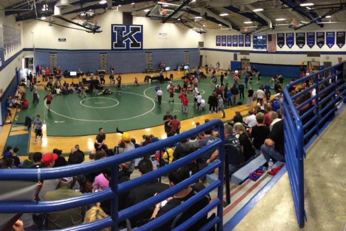 2015 Junior High State Duals Results