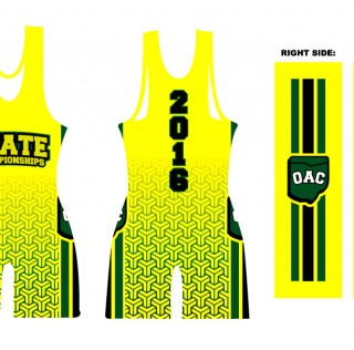 2016 OAC Singlet Now on Sale