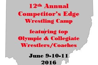 12th Annual Competitor's  Edge Camp June 9-11