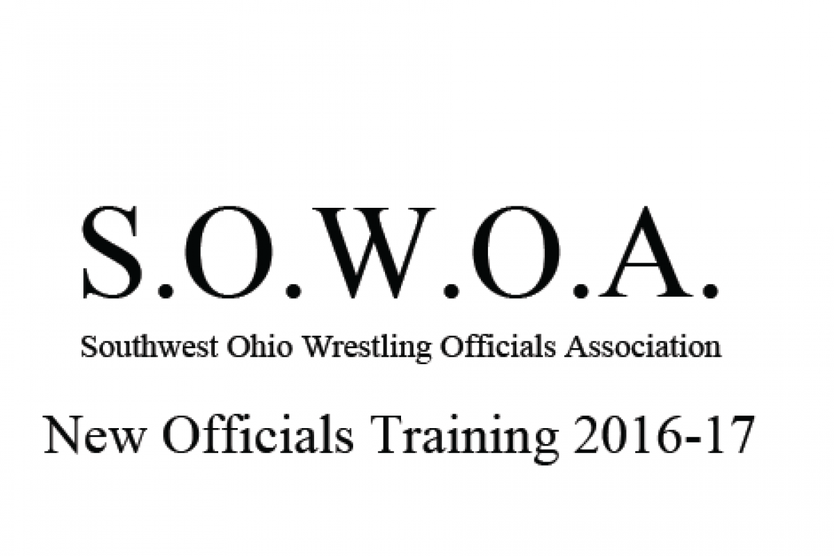 Southwest Ohio Wrestling Officials Info