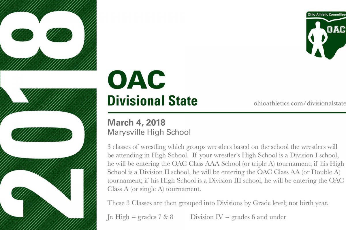 Ohio Divisional Wrestling State Championships