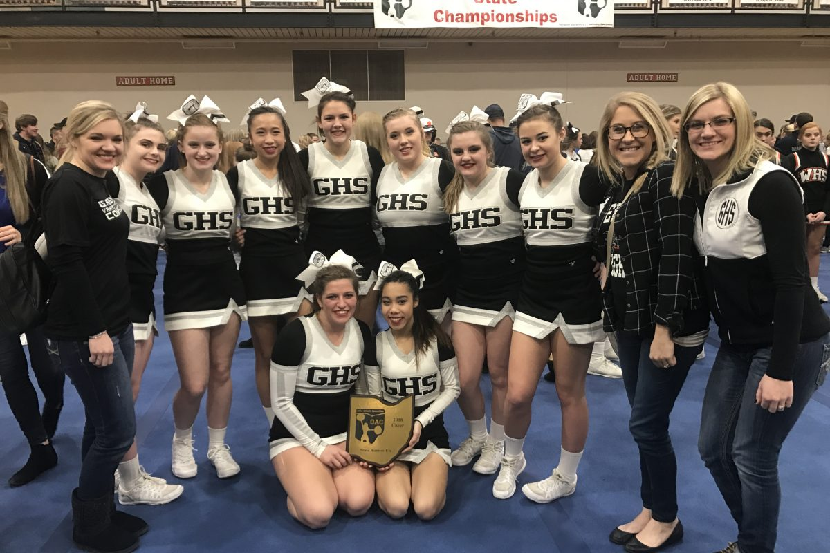2018 Cheerleading State Championship Results