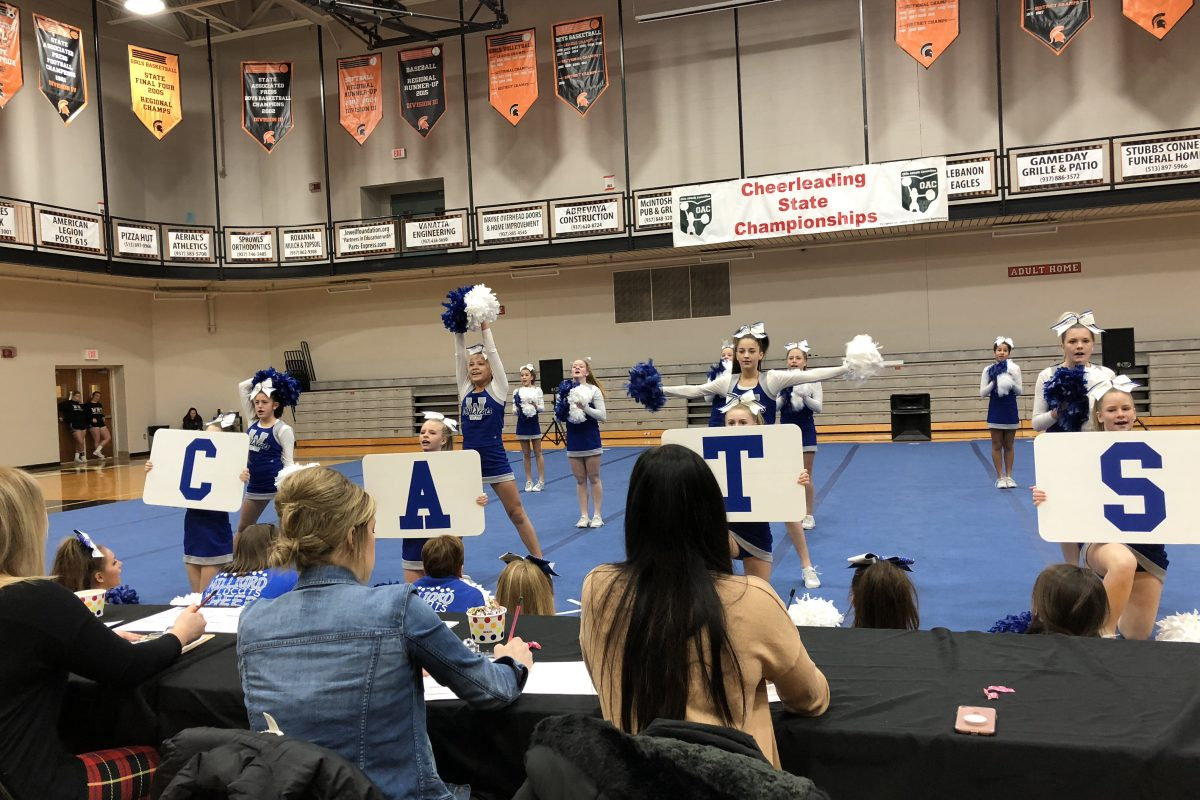 2018 State Cheerleading Photos