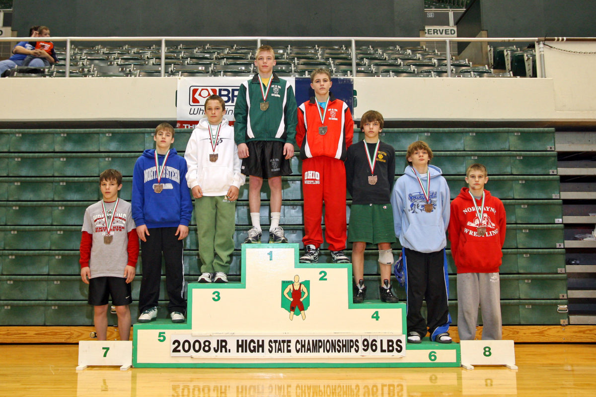 Bo Jordan at 2008 Junior High State