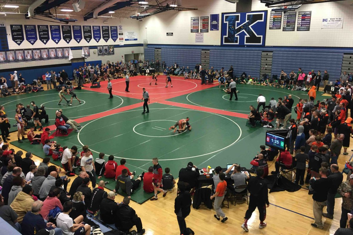 2018 OAC Junior High State Duals Results