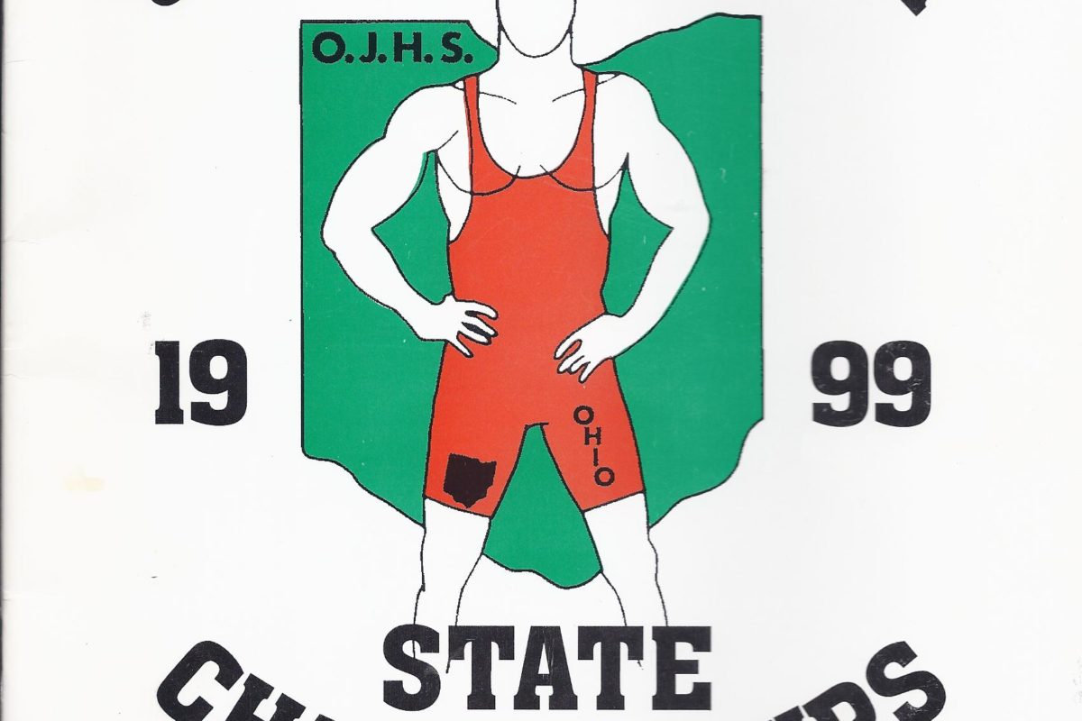 Wrestling Legend on the 1st Ohio Junior High State Tournament