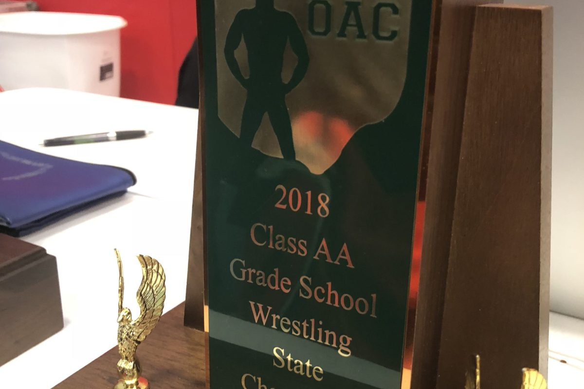 2018 OAC Divisional State Team Standings