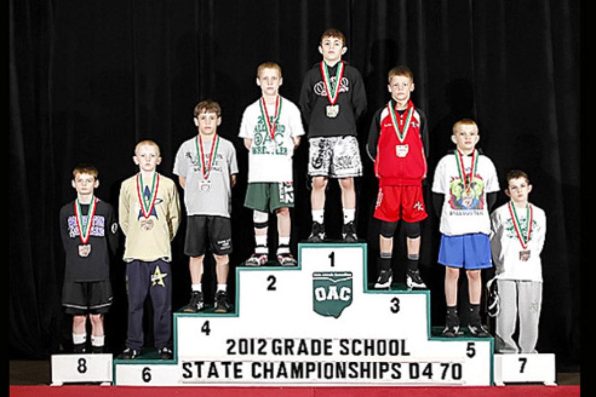 2012 Grade School State- D4 70lbs- Dylan D'Emilio vs. Jordan Crace
