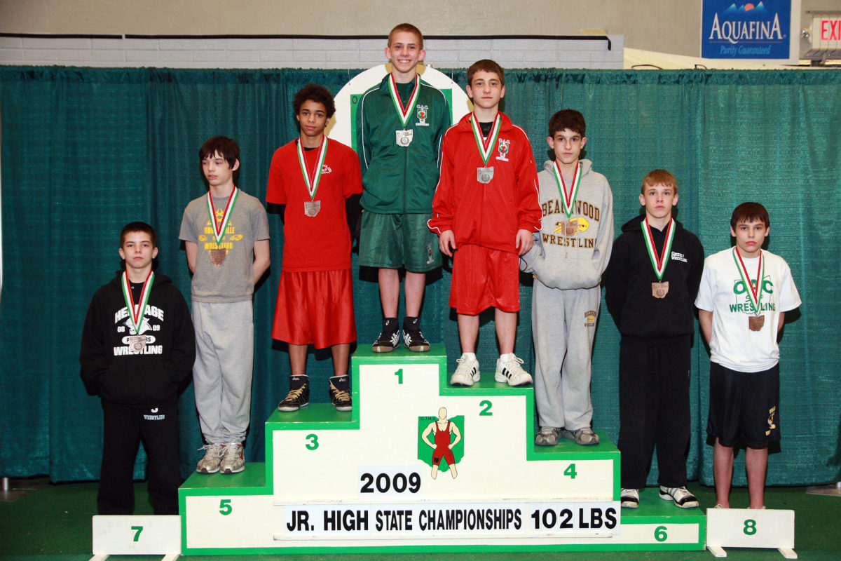2013 Ohio Junior High State Wrestling Special Guest Dean Heil