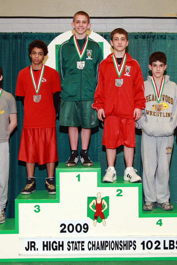 2013 Ohio Junior High State Wrestling Special Guest Dean Heil