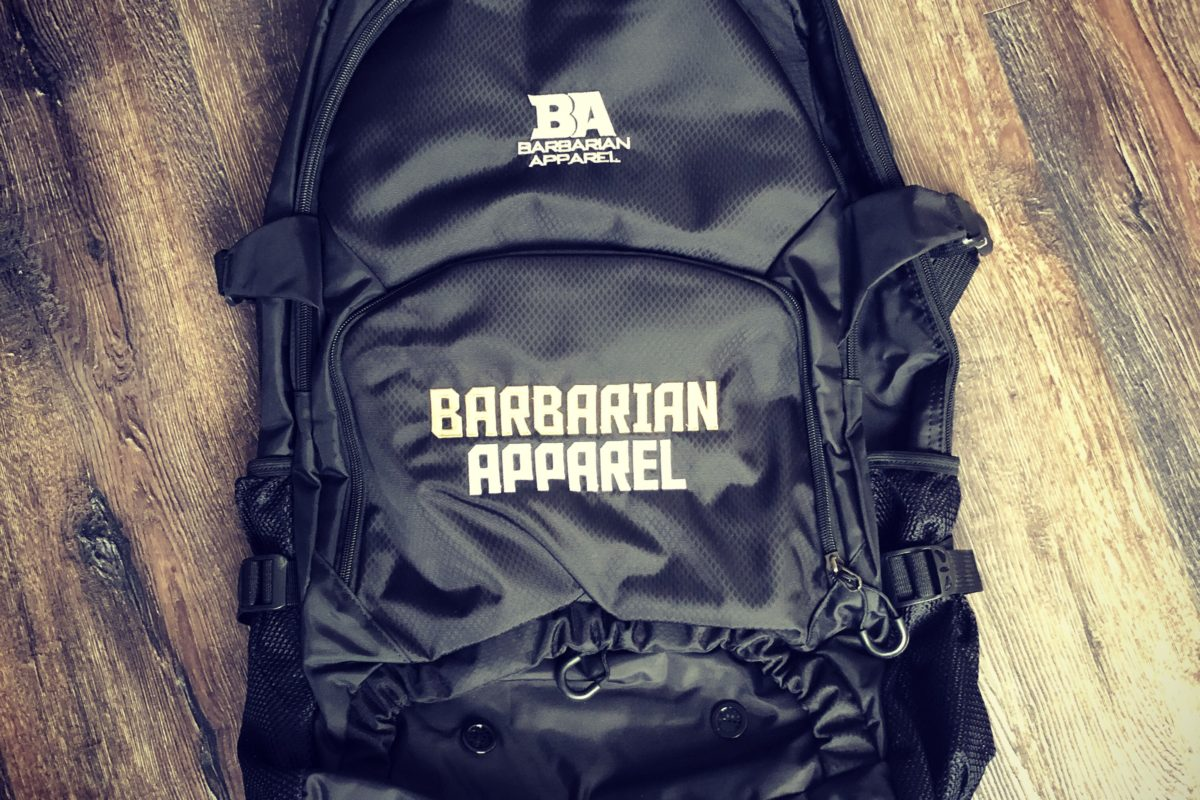 Win a Barbarian Apparel XL Bag