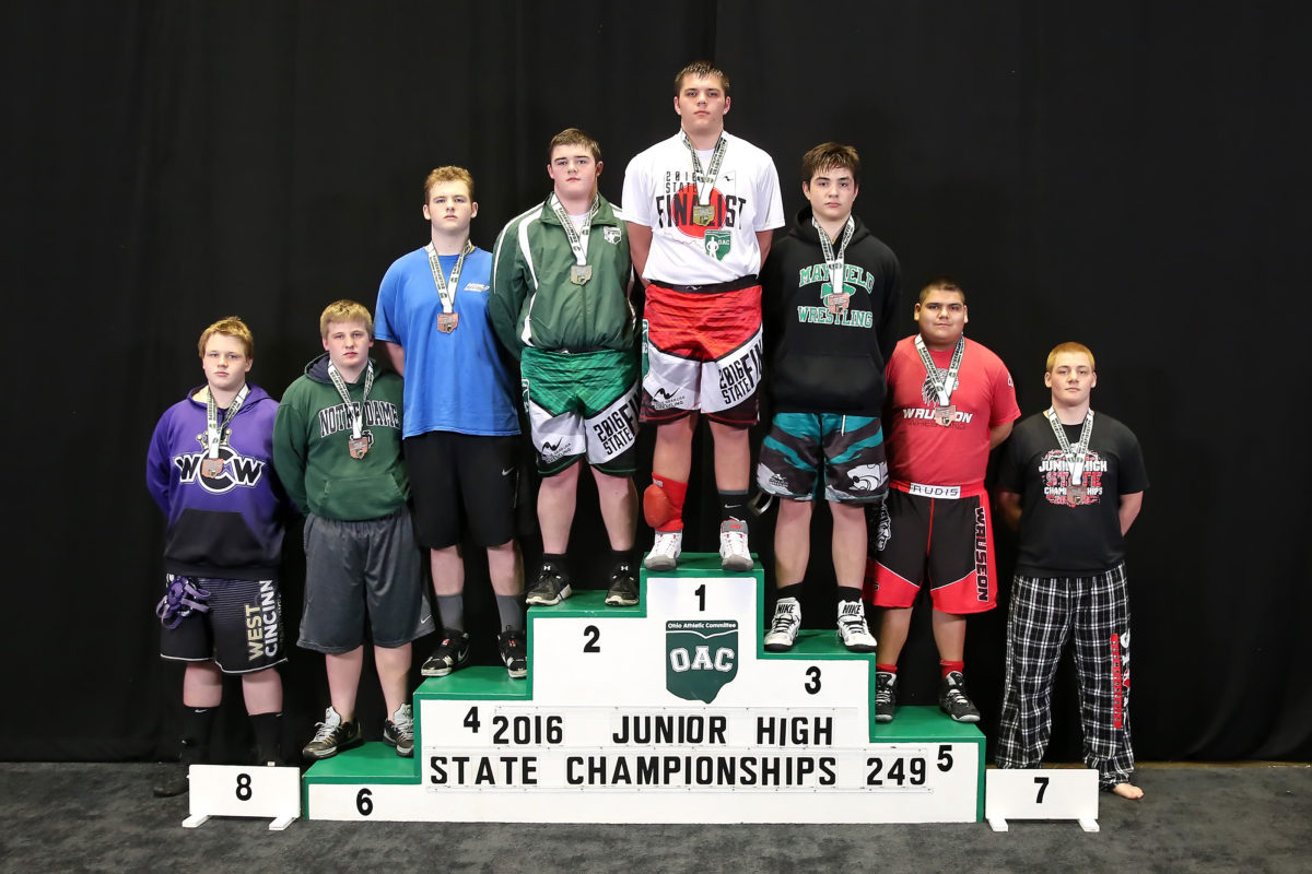Junior High State 2016-Padilla Wins A Wild One At OAC