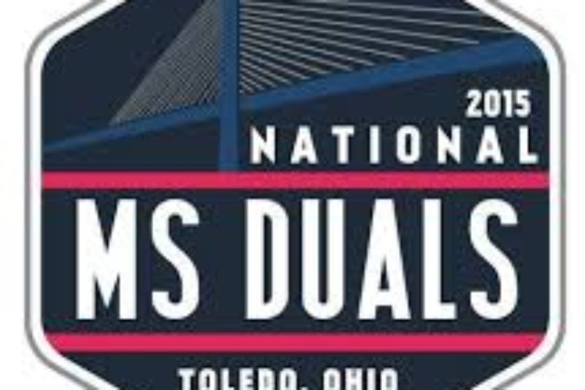 The National Middle School Duals November 9‐10‐11, 2018