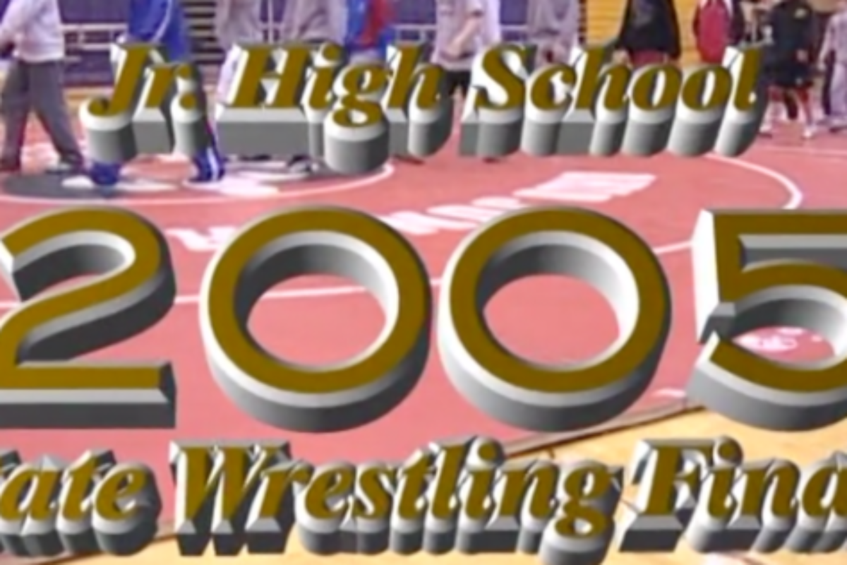 Chris Phillips vs Wes Price- 2005 Ohio Junior High State Finals- 120lbs