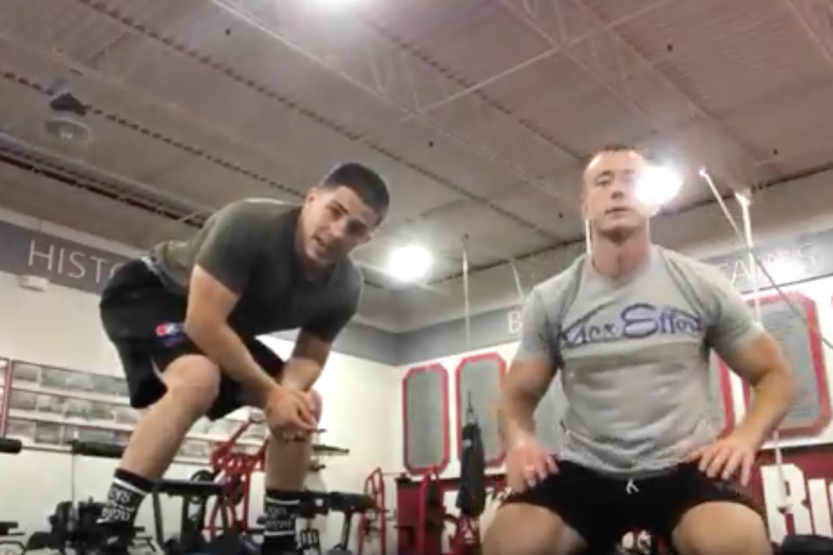 Footwork Drill for Wrestling Speed