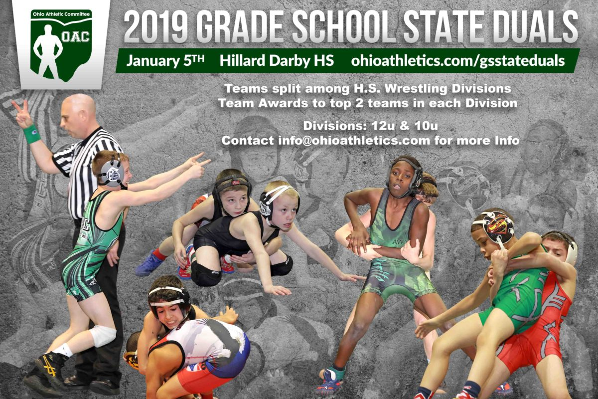 Grade School State Duals Registration Now Open