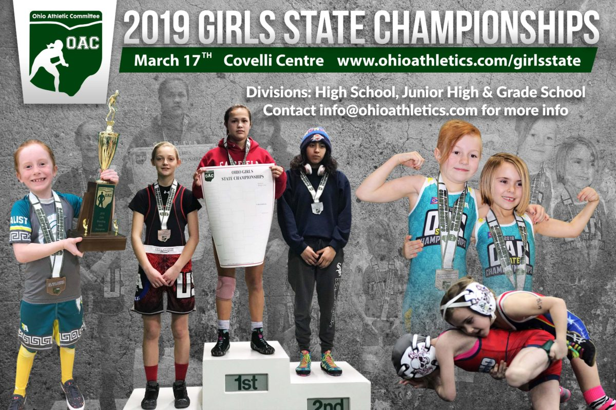 Ohio Girls Wrestling State Championships-March 17