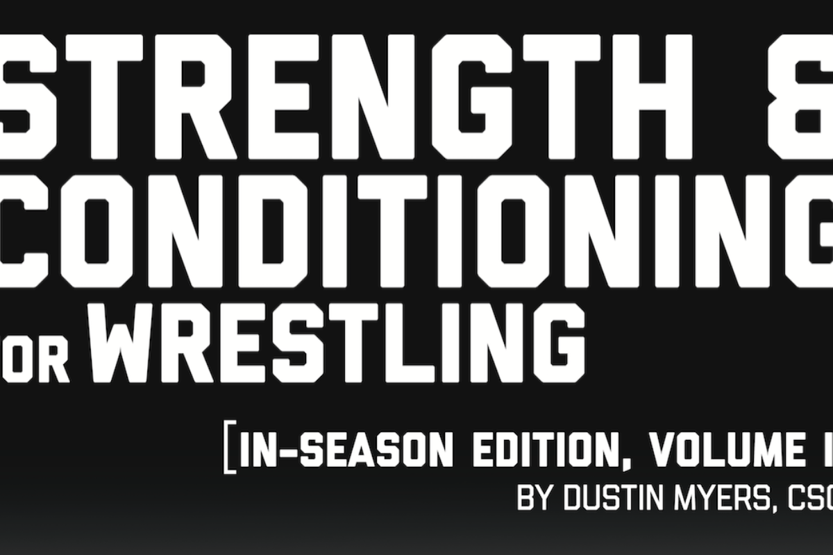 Strength & Conditioning  For Wrestling Vol II