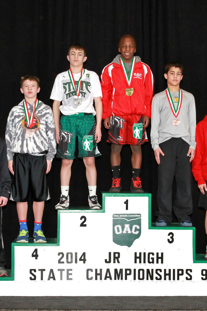 2006-2018 OAC Junior High State Placers