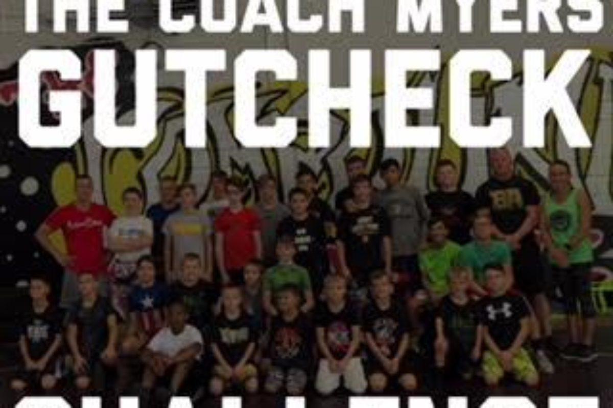 Coach Myers Gutcheck Challenge Dec 22nd- Steubenville