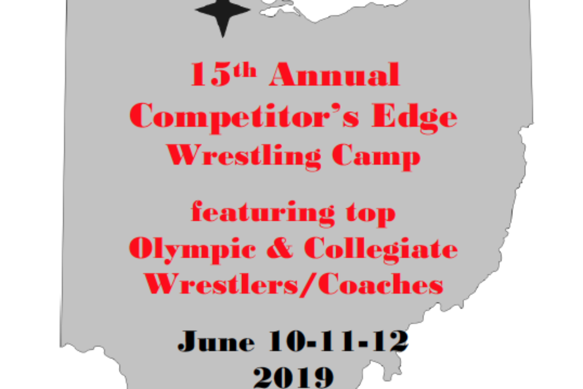 15th Annual Competitor's Edge Wrestling Camp June 10-12