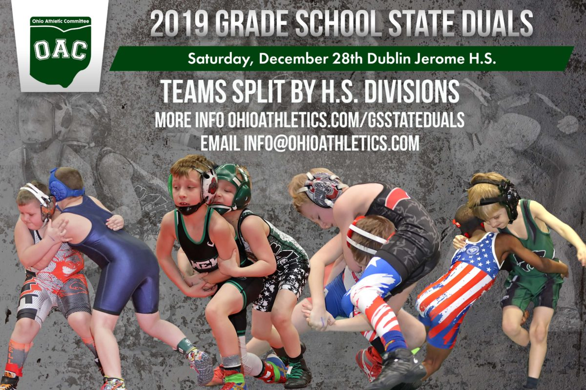 Grade School State Duals Registration Open