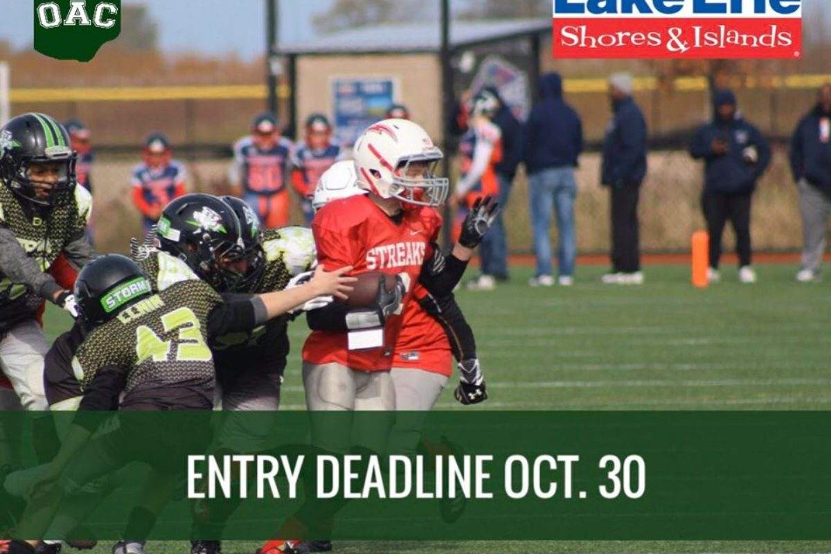 State Football Deadline Oct. 30