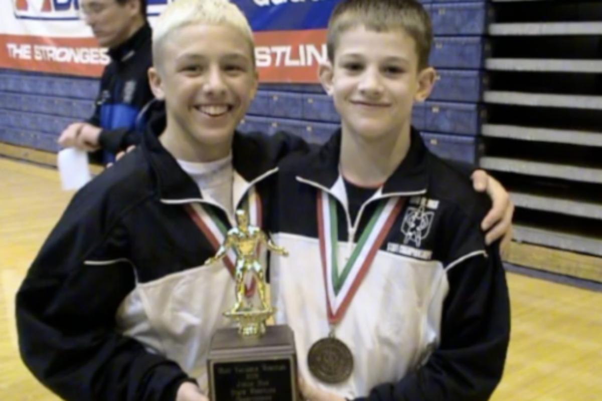 David Taylor's 3 Junior High Titles #oaclegends