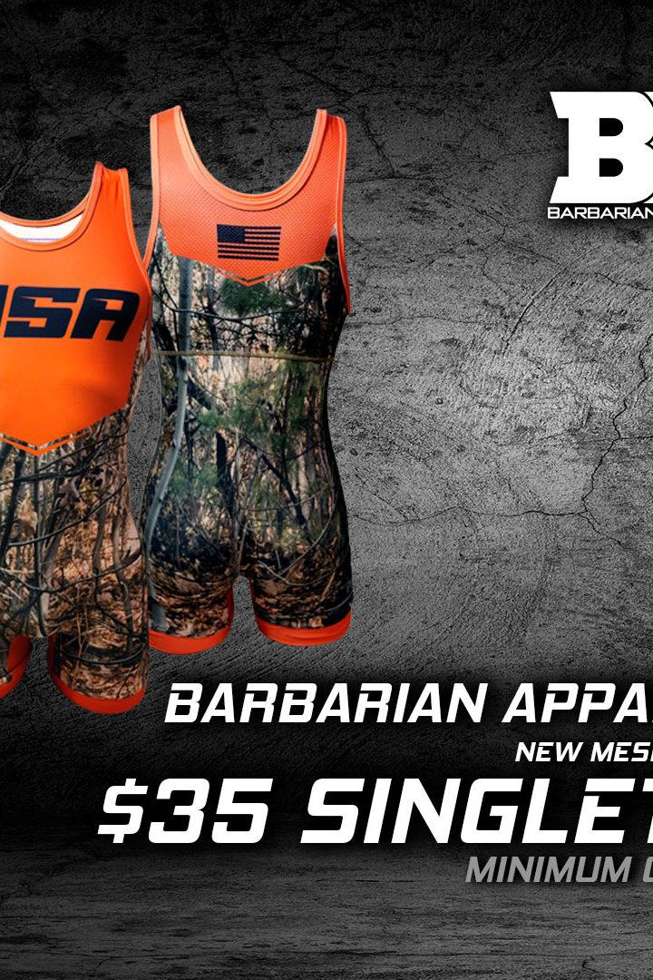 Barbarian Apparel July Special