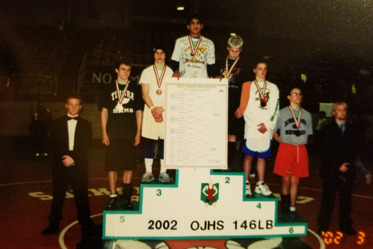 """#OACLEGENDS """"The First"""" 3X Jr.High State Champion  """"Tony Tortorici"""""""