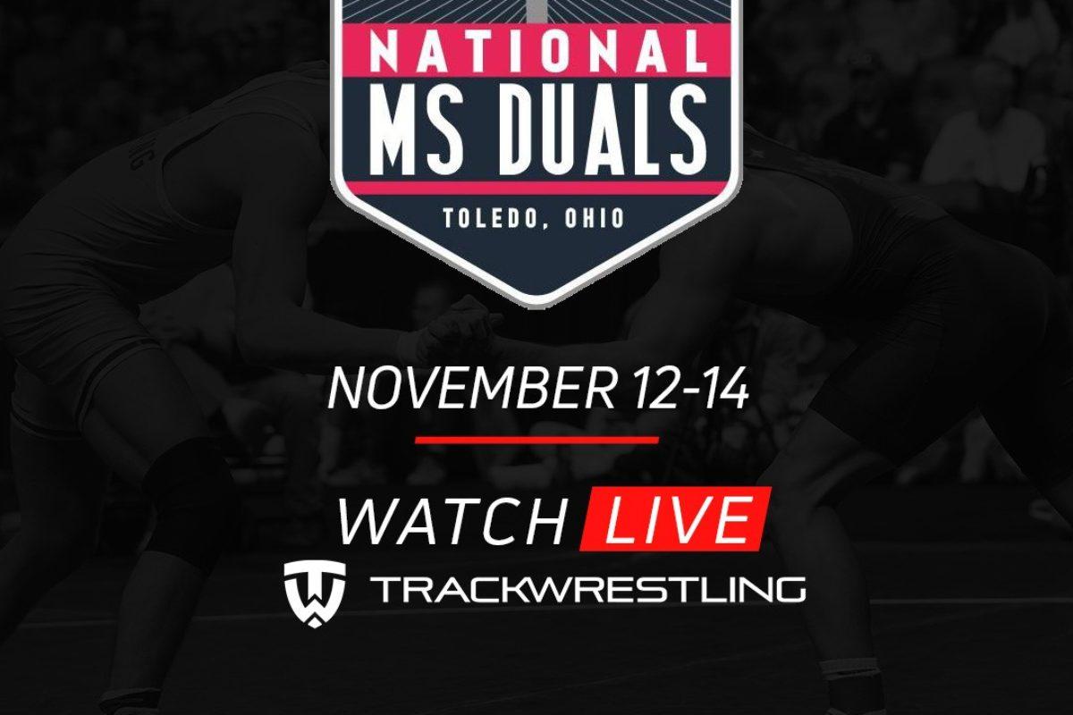 Middle School National Duals -Nov 12-14