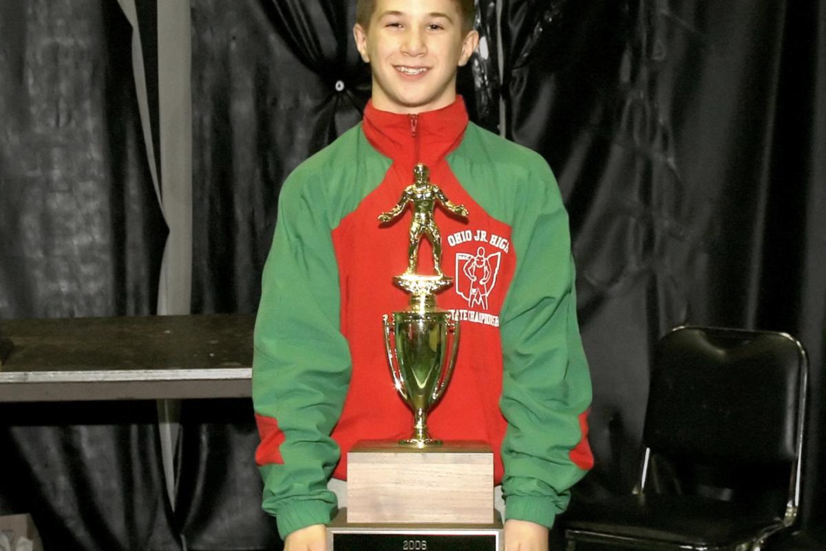 """Logan Stieber #OACLEGENDS """"3X Jr.High State  Champion"""""""