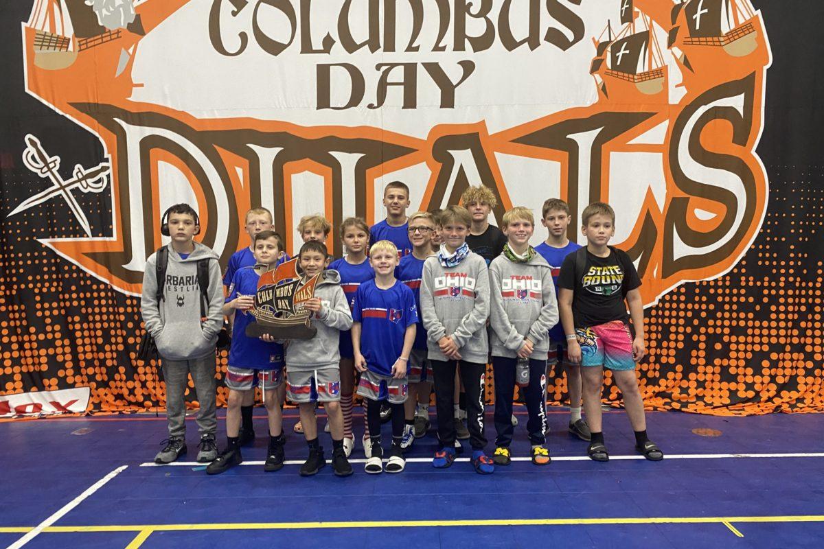 Team Ohio 6th Grade 3rd Place Finish @ Columbus Day Duals